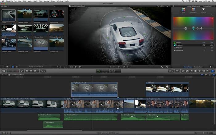 Final Cut Pro se actualiza a la versión 10.0.6