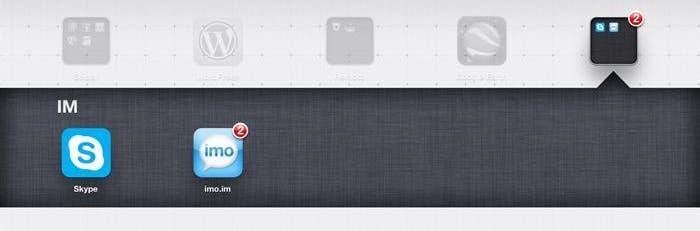 Aplicaciones temáticas para iPad, mensajería instantánea