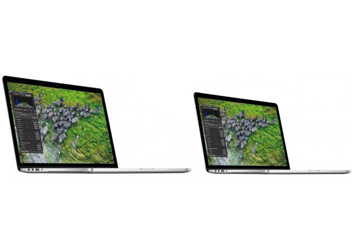 """Fotomontaje de lo que podría ser el MacBook Pro con pantalla Retina de 13"""""""
