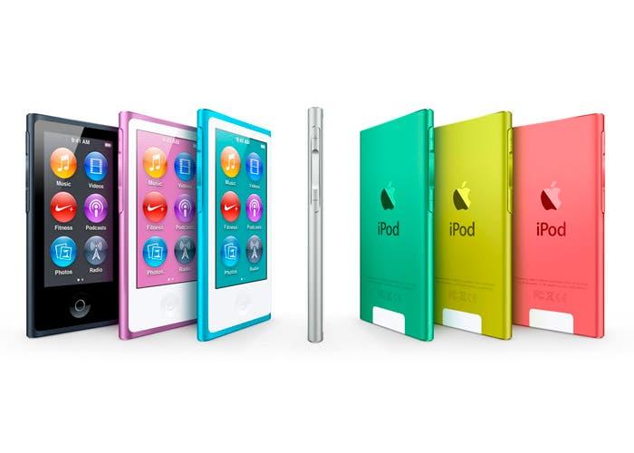 Ya en la calle la nueva gama iPod nano