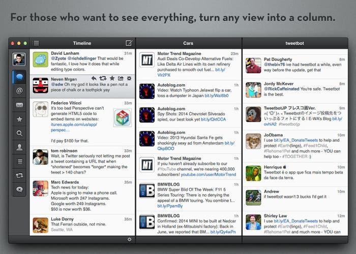 Tweetbot para Mac, ya disponible en Mac App Store
