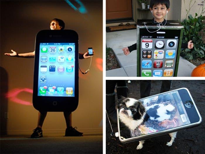 Algunos disfraces de iPhone