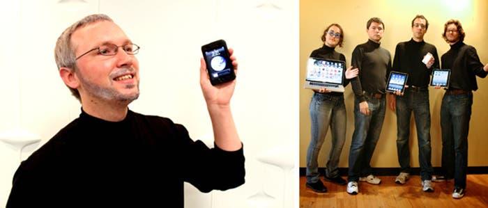 Algunos disfraces de Steve Jobs