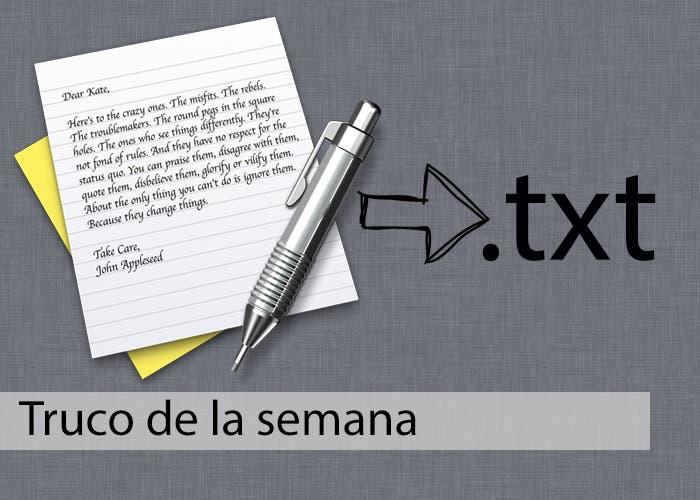 Truco de la semana: Convertir texto con formato en texto plano con ...