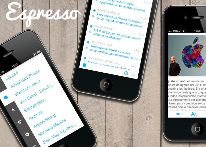 Espresso, un lector minimalista