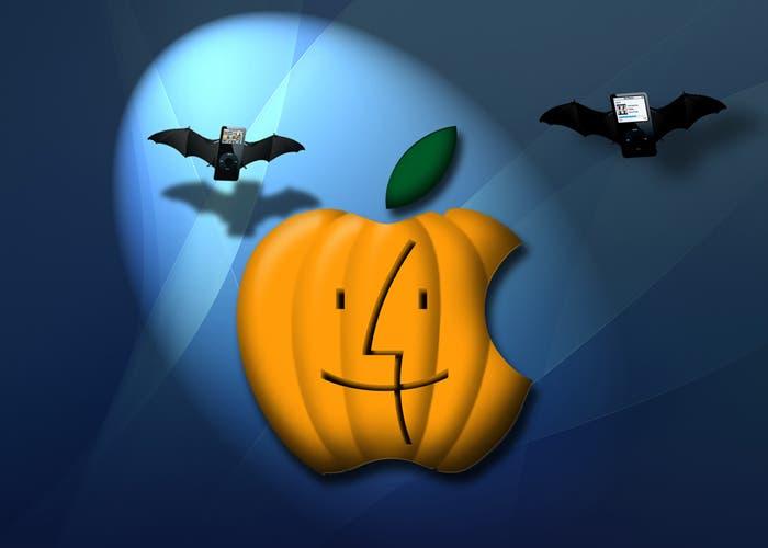 Mucha gente aprovecha Halloween para dejar patente su amor por Apple