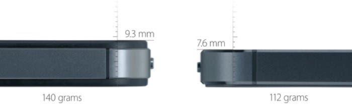 Comparativa iPhone 4S vs iPhone 5