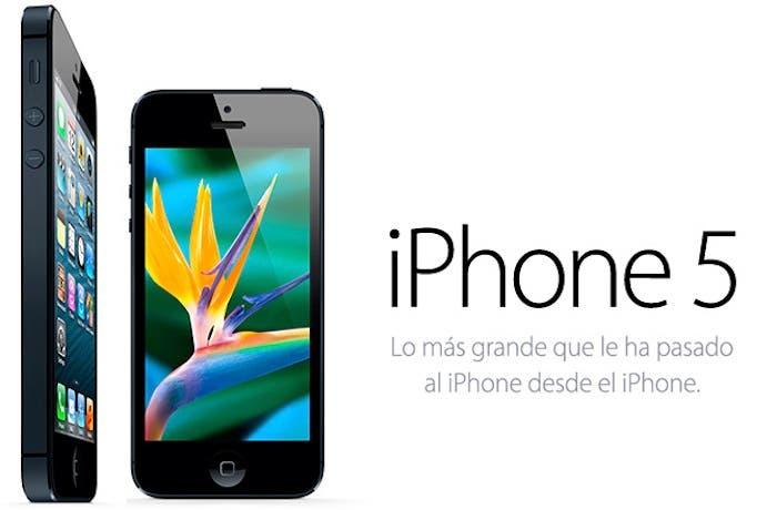 iPhone 5, el nuevo smartphone de Apple