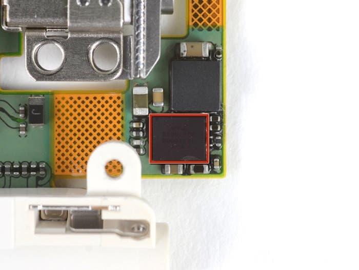 iPod touch 5G Codec Audio Cirrus