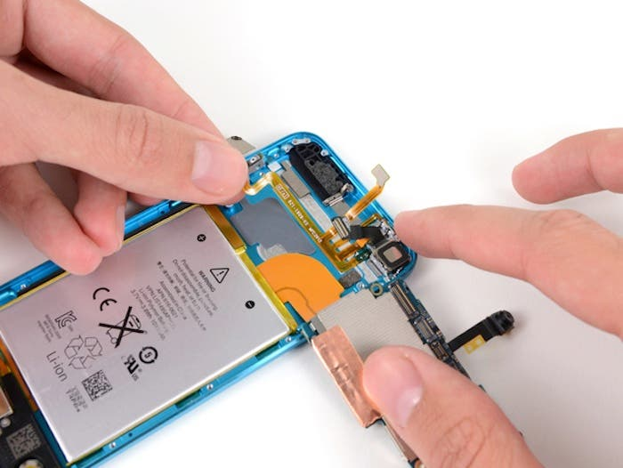 iPod touch 5G Extracción Cámara iSight