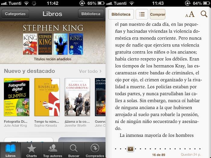 iBooks para iPhone