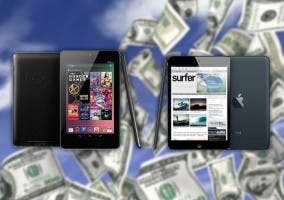Ventas del iPad mini y Nexus 7