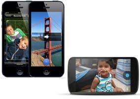 Modo panorama en el iPhone 5 y el Nexus 4
