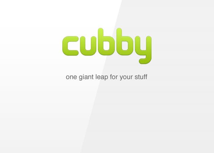Cubby, servicio de almacenamiento en la nube