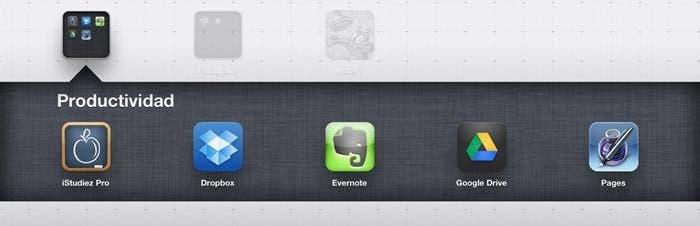 Aplicaciones temáticas para iPad, productividad