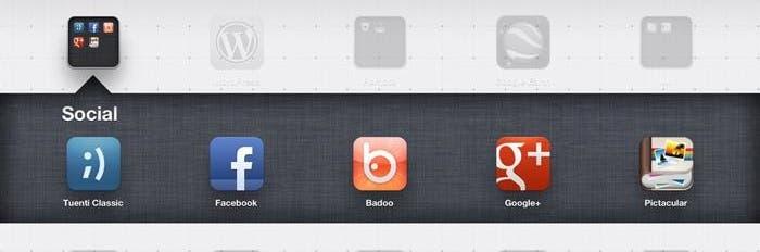 Aplicaciones temáticas para iPad, redes sociales