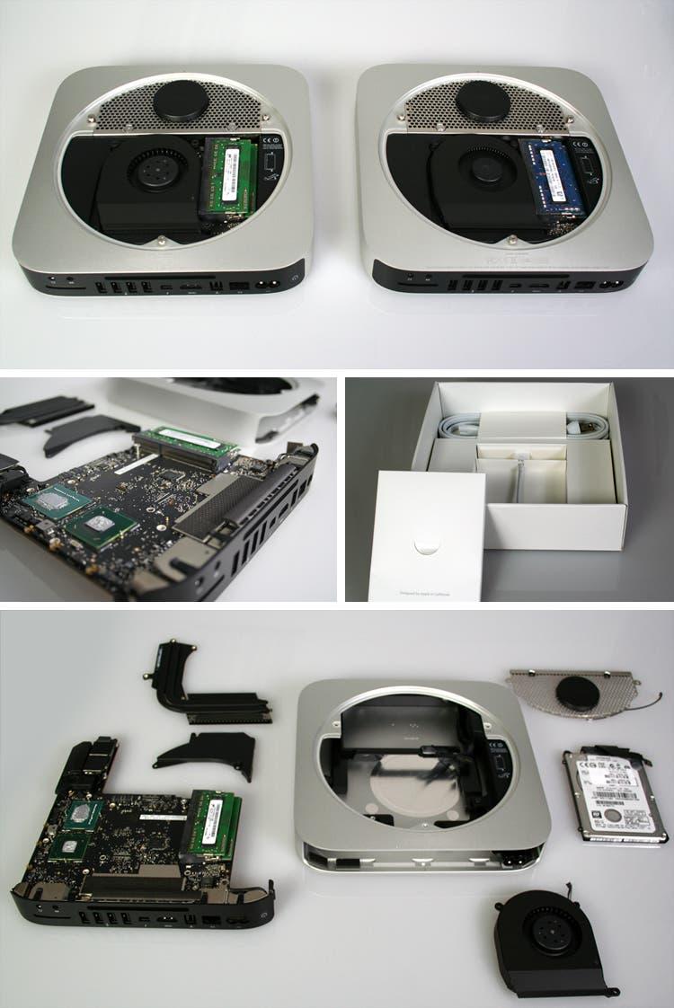 Tear down del nuevo Mac mini