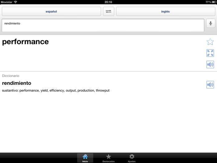 Aplicación de Google Translator para empezar con el iPad