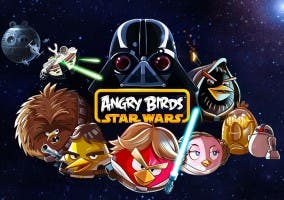 Poster oficial de Angry Birds Star Wars
