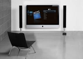 Televisor de Apple en el salón de casa