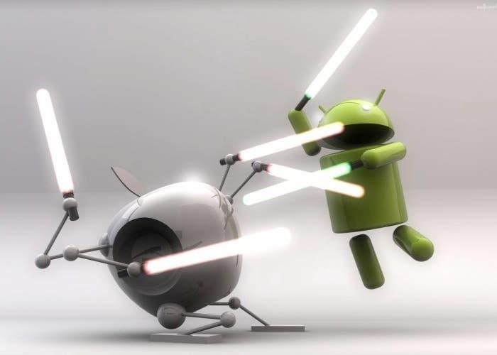 Apple en su batalla contra la competencia