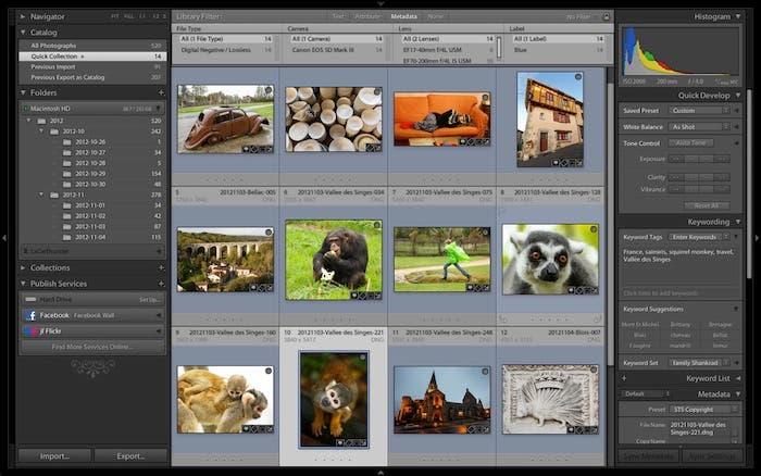 Captura de pantalla Adobe Photoshop Lightroom Release Candidate