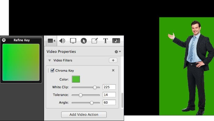 Chroma key en ScreenFlow 4