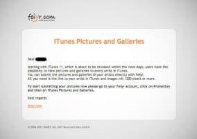 E-mail filtrado