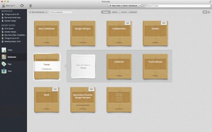 Evernote 5 para Mac ya disponible para descarga en la Mac App Store