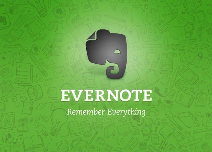 Evernote 5 disponible para descarga en App Store