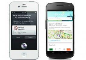 Google Now y Siri frente a frente