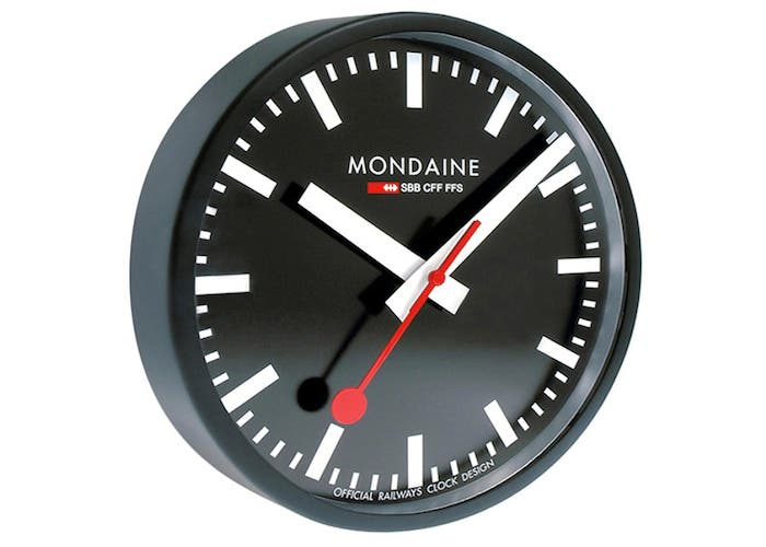 Reloj Suizo Mondaine, supuestamente copiado por Apple
