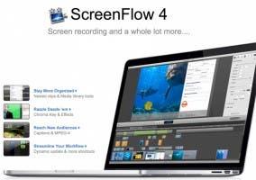 Versión 4.0 de ScreenFlow