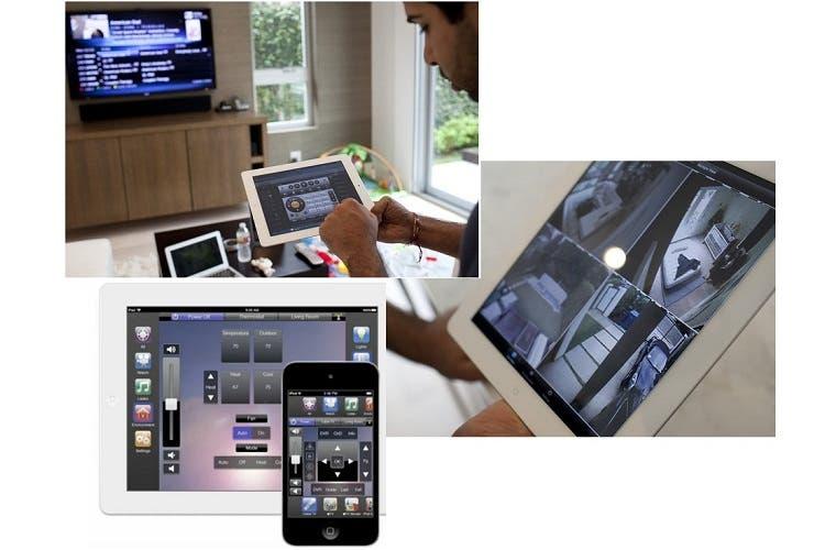 Sistema domótico Apple de control doméstico