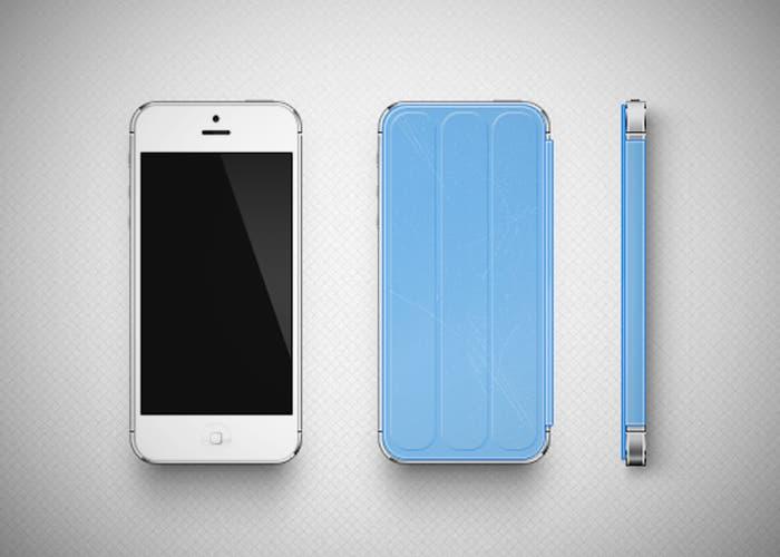 Concepto de Smart Cover para iPhone 5