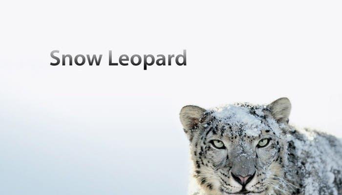 Snow Leopard aún vigente en Mac