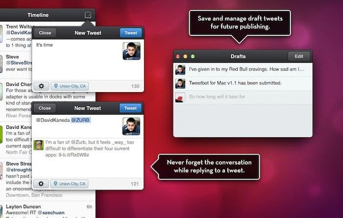 Captura de pantalla de Tweetbot for Twitter-Timeline