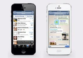 WhatsApp en el iPhone 5