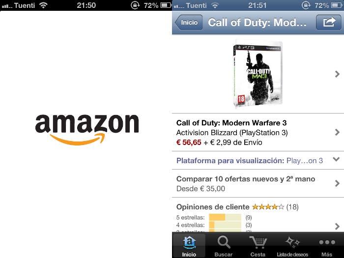 Amazon para iPhone