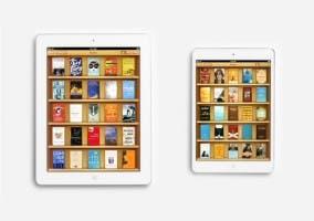 Anuncio iBooks con iPad mini