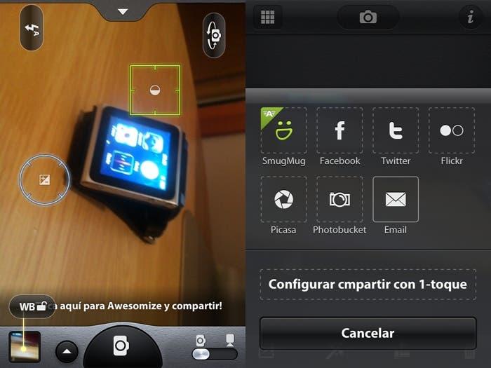 Camera Awesome para iOS