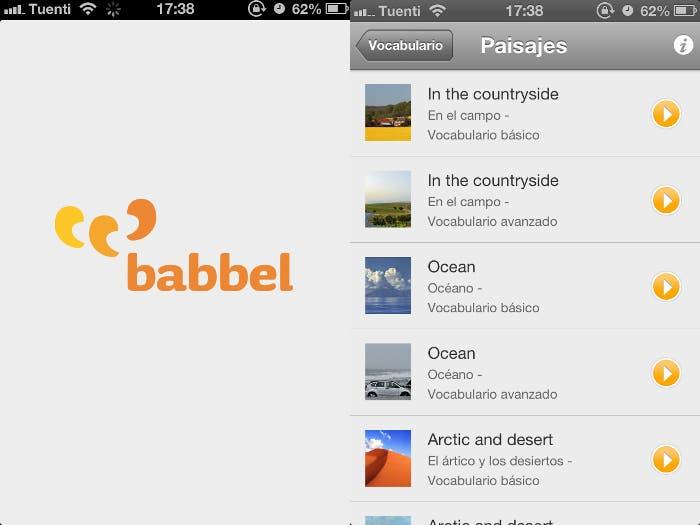 Babbel para iOS