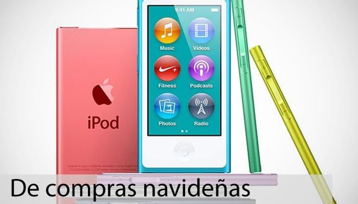 Compras navideñas iPod