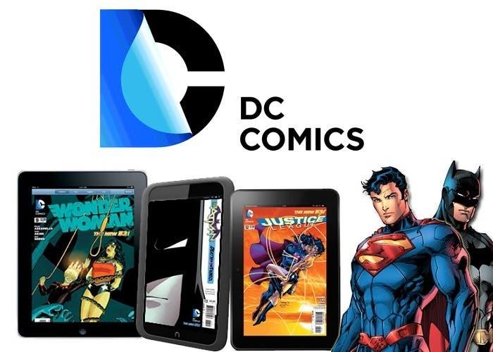 DC online lleva sus comics a los dispositivos móviles