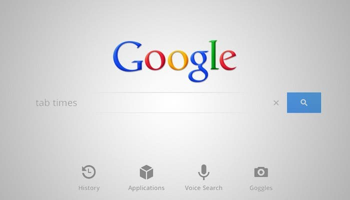 Google Voice Search para iPad