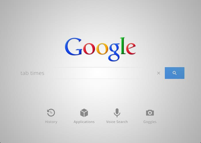 Google Voice Search para iPad