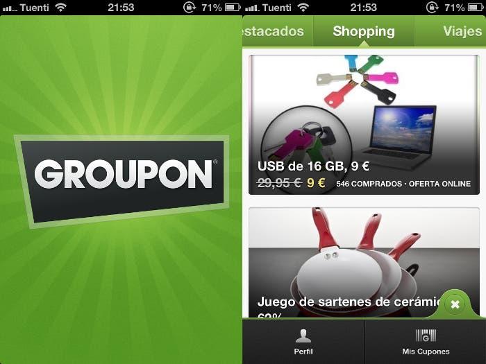 Groupon para iPhone