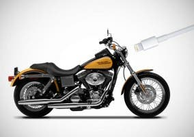 Harley-Davidson y los conectores Lightning