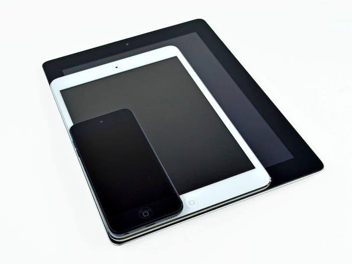 iPad Mini Comparativa iPad e iPhone