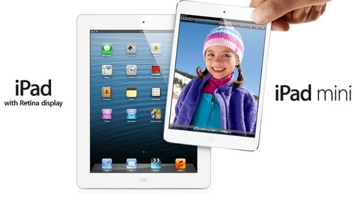 iPad y iPad mini frente a frente